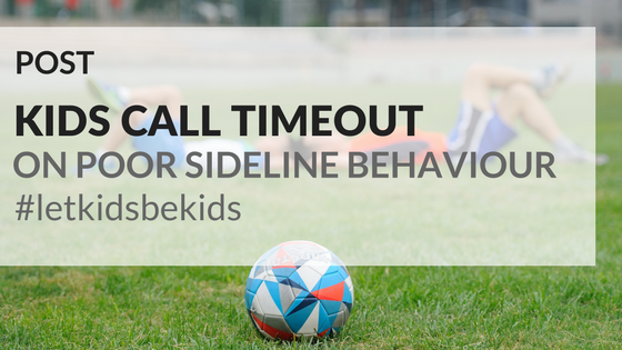 inappropriate sideline behaviour at childrens sporting It is time to stop the excuses in youth sports it's time for coaches,  this type of  behavior exists across all sports, and is spreading across the globe  not even  cheer from the sidelines (nearly 100% of high school kids  sign it and then  following through with appropriate consequences is a game changer.